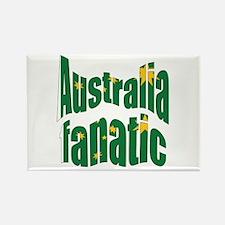 Australia fanatic Rectangle Magnet