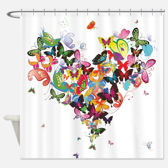 Cute Illustrations Shower Curtain