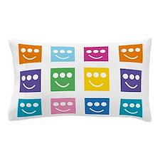 Multi-color Triclopsies Pillow Case