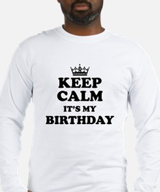 Its My Birthday Long Sleeve T-Shirt
