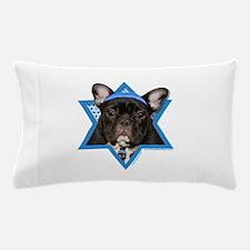 Hanukkah Star of David - Frenchie Pillow Case