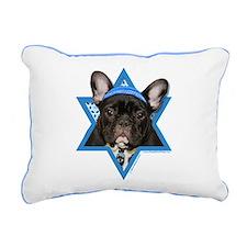 Hanukkah Star of David - Frenchie Rectangular Canv