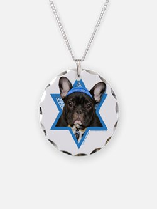 Hanukkah Star of David - Frenchie Necklace