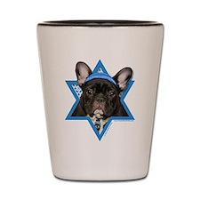 Hanukkah Star of David - Frenchie Shot Glass