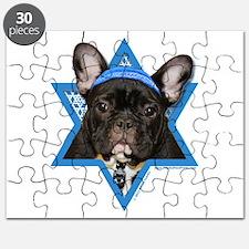 Hanukkah Star of David - Frenchie Puzzle