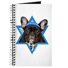 Hanukkah Star of David - Frenchie Journal