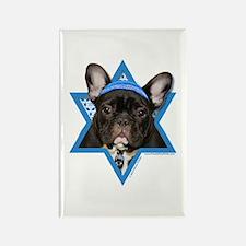 Hanukkah Star of David - Frenchie Rectangle Magnet