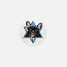 Hanukkah Star of David - Frenchie Mini Button (10