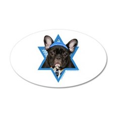 Hanukkah Star of David - Frenchie Wall Decal