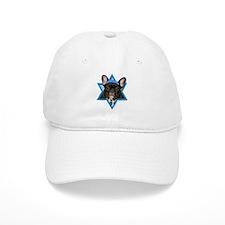 Hanukkah Star of David - Frenchie Baseball Cap