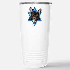 Hanukkah Star of David - Frenchie Travel Mug