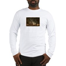 Steps up the Mountain Long Sleeve T-Shirt