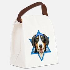 Hanukkah Star of David - Bucher Canvas Lunch Bag