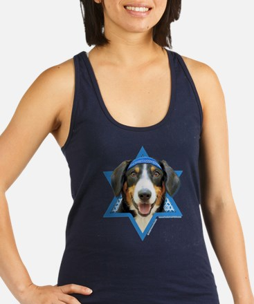 Hanukkah Star of David - Bucher Racerback Tank Top