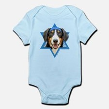 Hanukkah Star of David - Bucher Infant Bodysuit
