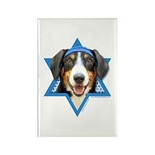 Hanukkah Star of David - Bucher Rectangle Magnet