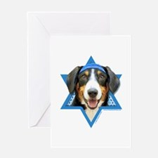 Hanukkah Star of David - Bucher Greeting Card