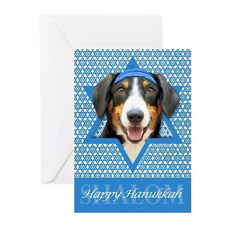 Hanukkah Star of David - Bucher Greeting Cards (Pk