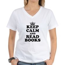 Keep Calm Read Books T-Shirt