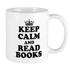 Keep Calm Read Books Mugs