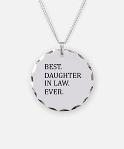 Best Daughter in Law Ever Necklace