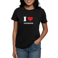 i love americans  Tee