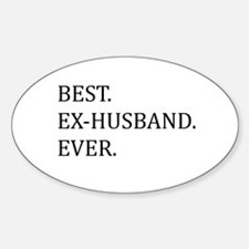 Best Ex-husband Ever Decal