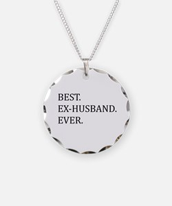 Best Ex-husband Ever Necklace Circle Charm