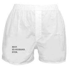Best Ex-husband Ever Boxer Shorts