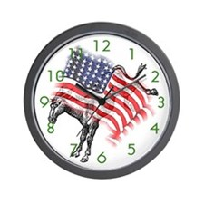 The Democrat Wall Clock