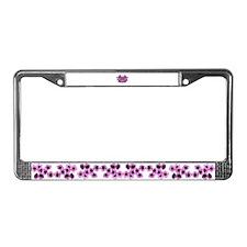 Love License Plate Frame