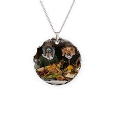 Thanksgiving Dinner Doxies 2 Necklace