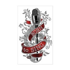 Born to Sing Decal