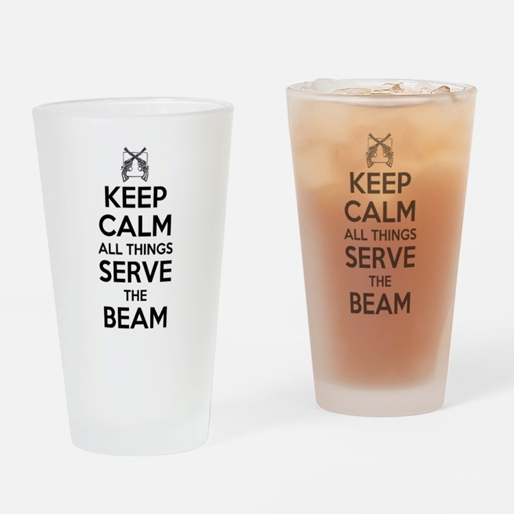 Keep Calm #2 Drinking Glass