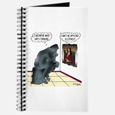 The Thinker & Mona Lisa's Thoughts Journal