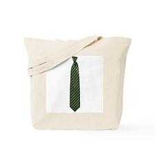 Stripe Tie Tote Bag