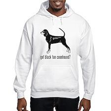Black Tan Coonhound Hoodie