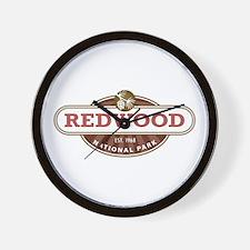 Redwood National Park Wall Clock