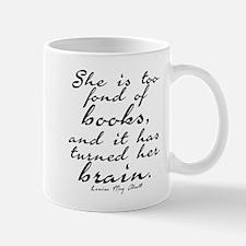 Too Fond of Books Mug