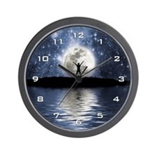Between Heaven And Earth Wall Clock