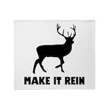 Make It Rein Throw Blanket