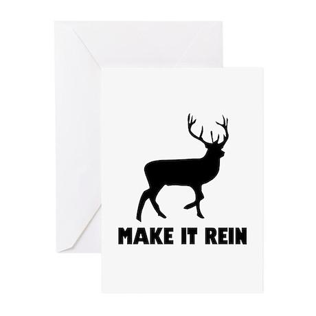 Make It Rein Greeting Cards (Pk of 10)