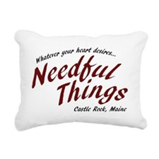 Needful Things (LRD #7) Rectangular Canvas Pillow