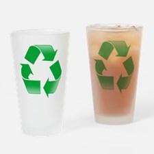 CLASSIC RECYCLE SYMBOL Drinking Glass