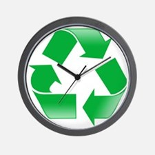 CLASSIC RECYCLE SYMBOL Wall Clock
