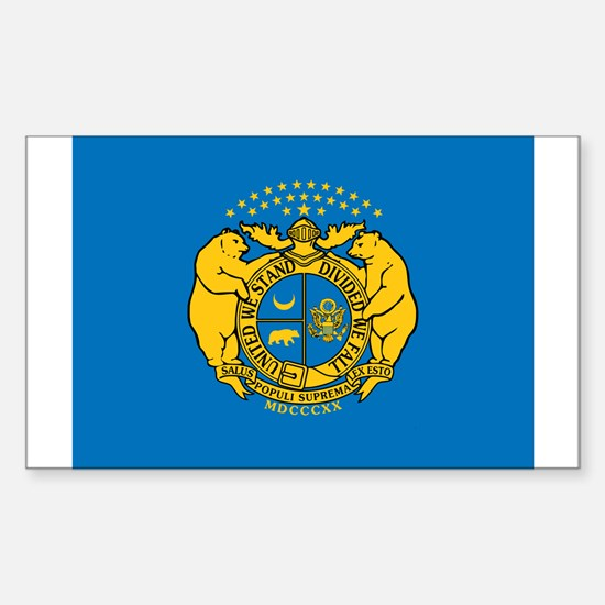 Flag of Missouri SG Decal