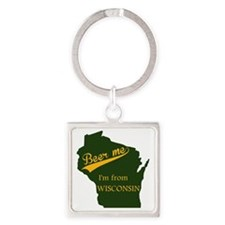 Beer me! Square Keychain