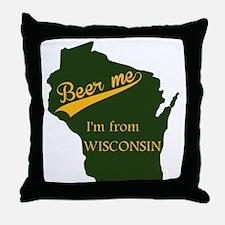 Beer me! Throw Pillow