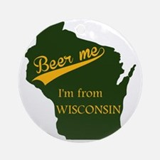 Beer me! Round Ornament