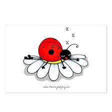 Unique Ladybug Postcards (Package of 8)